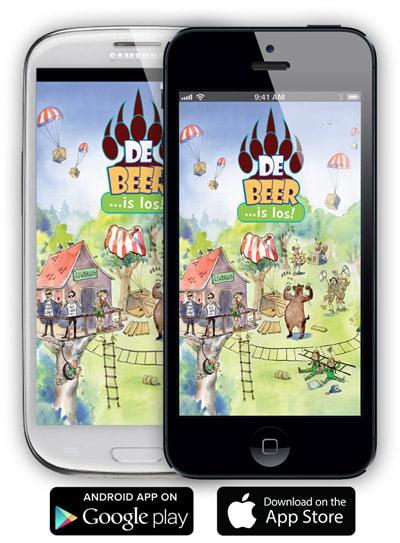 gratis app eindmusical de beer is los